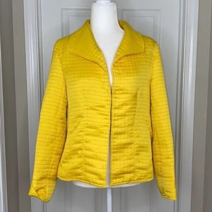 Laura Ashley Yellow Jacket Size Medium